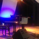 Bühnenaufbau